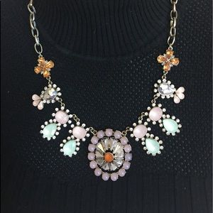 J.Crew necklace pastel colors